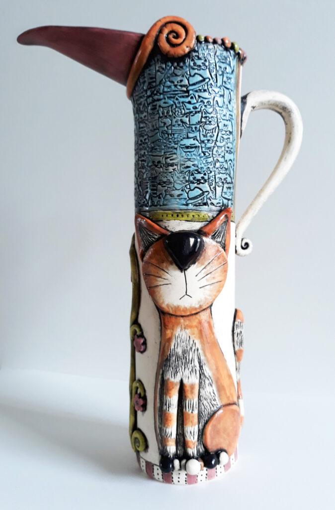 Lindsay Butler cat jug