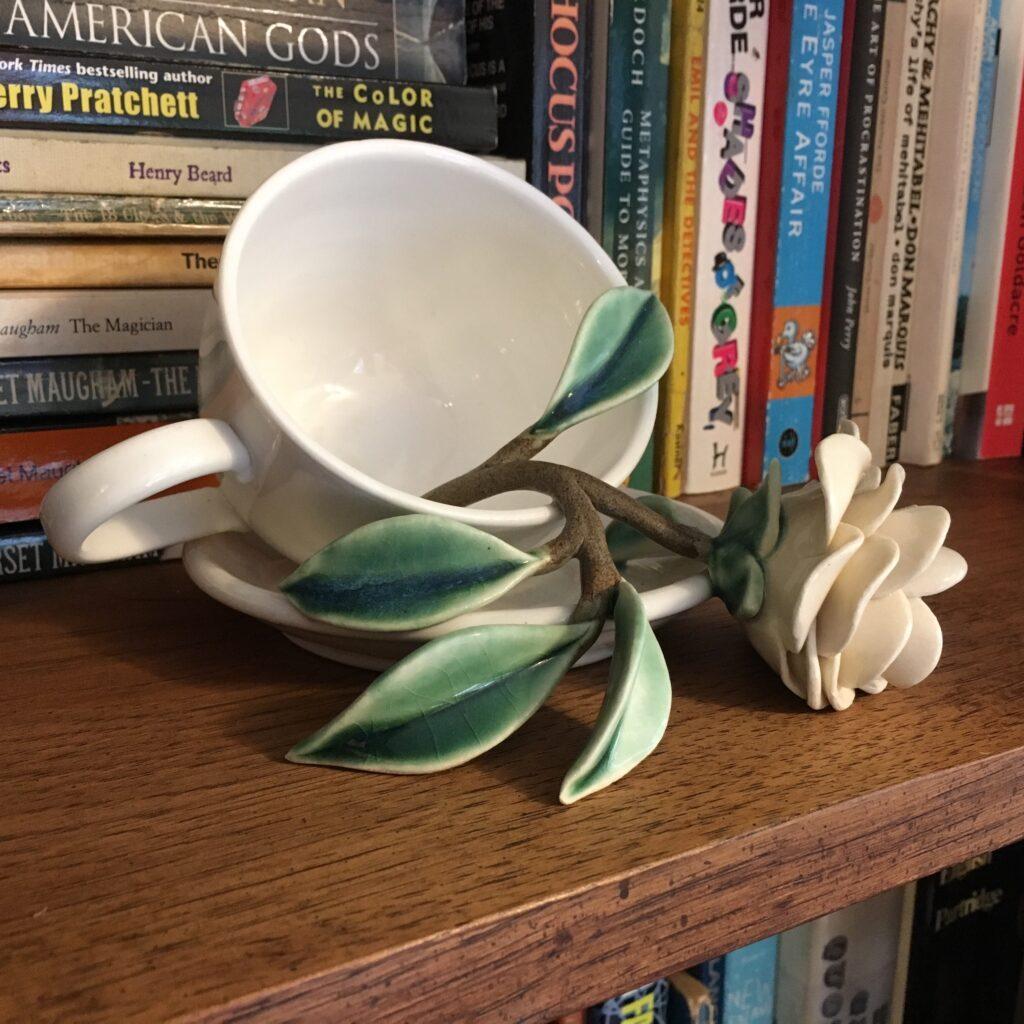 Suzy Dunser – camellia teacup