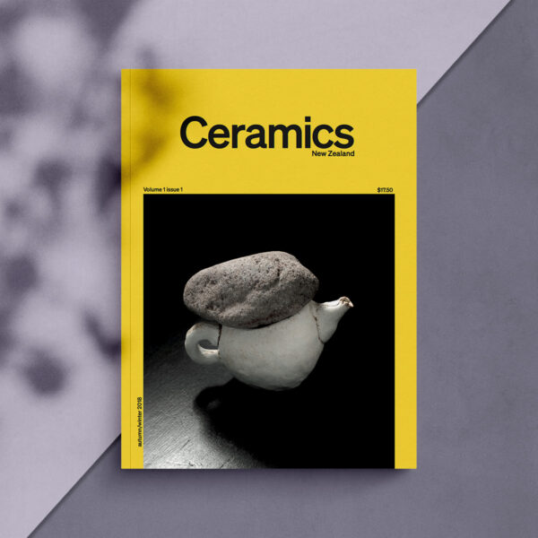 Ceramics NZ Volume 1 Issue 1 cover