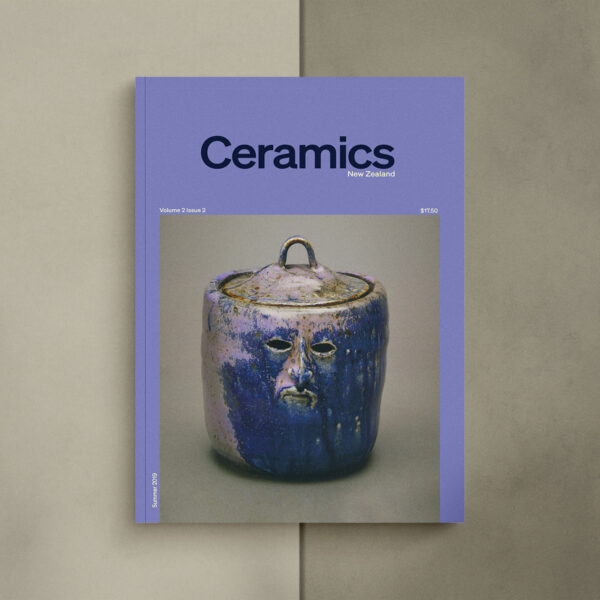 Ceramics NZ Volume 2 Issue 2 cover