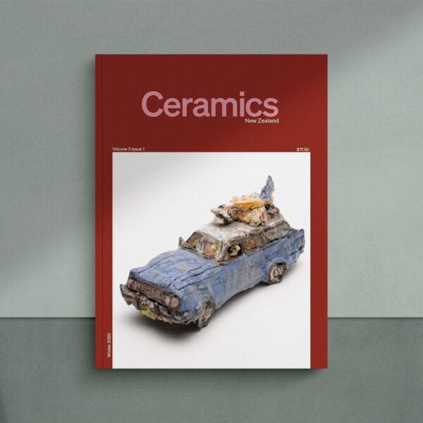 Ceramics NZ Volume 3 Issue 1 cover